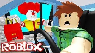 McDonalds'dan KAÇIŞ ! - ROBLOX !