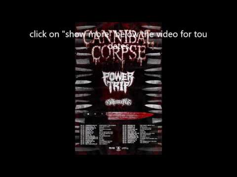 CANNIBAL CORPSE US Tour w/ Power Trip And Gatecreeper + new album Out This Fall!
