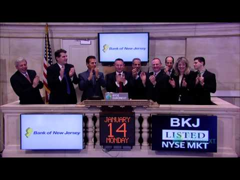 Bancorp of New Jersey Visits the NYSE