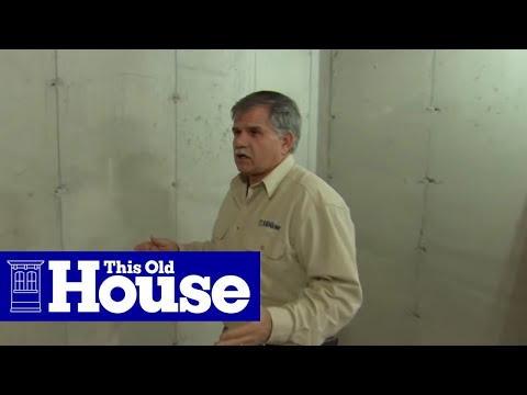 How to Frame Out Basement Walls - This Old House