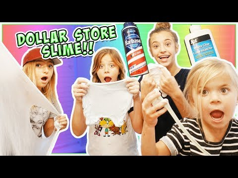 $ WE MADE $ DoLLAR SToRE SLIME!!