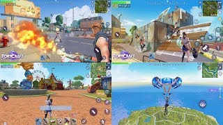 FortCraft [Download iOS | Android PUBG and Fortnite + cell phone list]