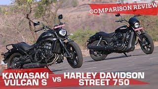 Kawasaki Vulcan S vs Harley-Davidson Street 750 | And the best mid-capacity cruiser is...