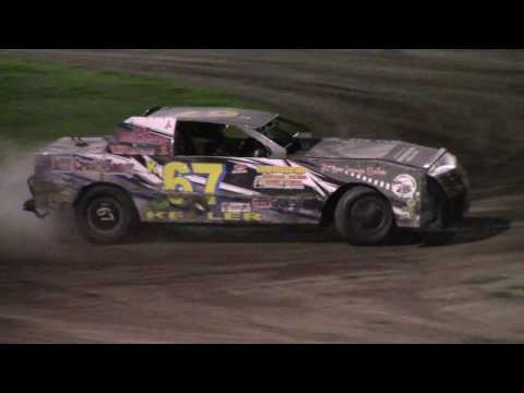 Farmer City Raceway WHAT UP DOG 40 Street Stock Full Show 8 19 2016