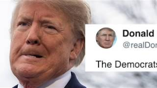 "Trump just gave Democrats bizarre, childish ""advice"" during morning Twitter"