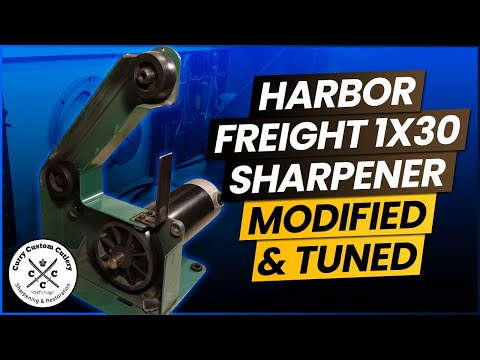 Harbor Freights 1x30 Modified & Tuned