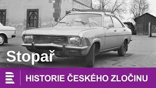 Historie čeakého zločinu: Stopař