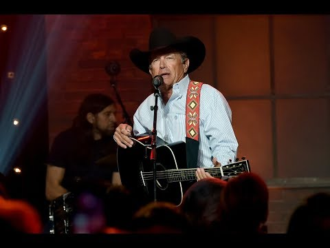 "George Strait Singing ""Tennessee Whiskey"" Is Something We Need"
