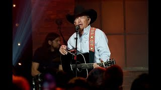 "George Strait Singing ""Tennessee Whiskey"" Is Something We Need"