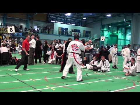 2013 TAGB British Championships Cregg vs McGinn