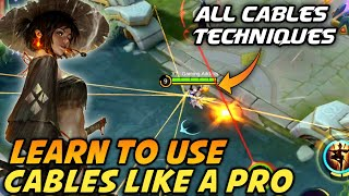 Fanny Cable Mechanism,Combos,Tower Dive & Wallspam | Updated Fanny Guide 2020 | Mobile Legends