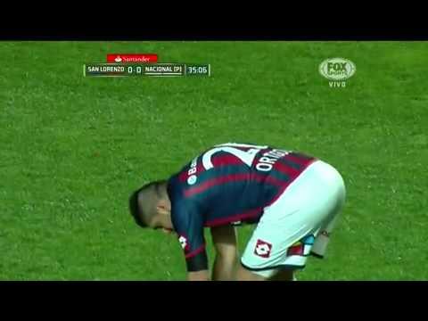 Copa Libertadores 2014 - Final Vuelta - Ortigoza - San Lorenzo 1 - Nacional 0