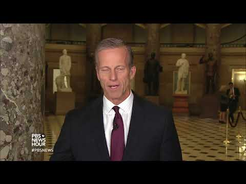 Thune: GOP trying stay focused on agenda despite 'family feuds'