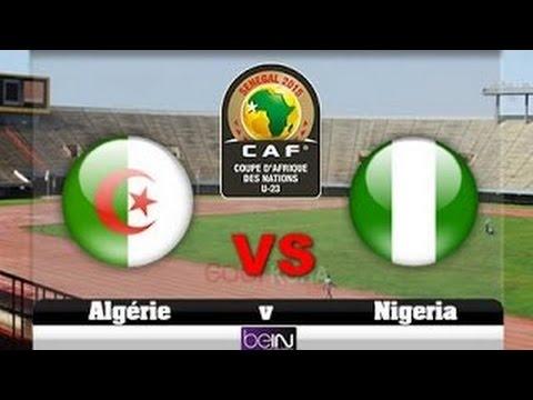 الجزائر 1-3 نيجيريا