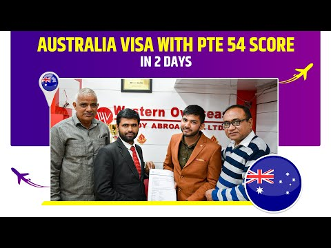 australia-visa-with-pte-54-score-in-12-days