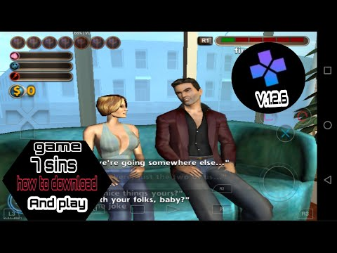 Damon Ps2 V.1.2.6 Game #7 #sins How To Download Setting And Play Link Description