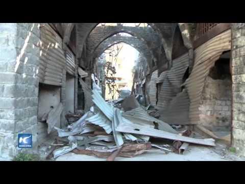 Reconstrucción de Homs, un duro proceso para el pueblo sirio