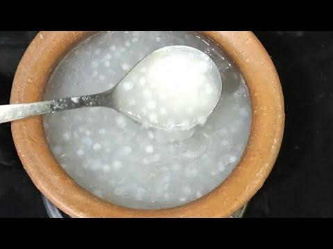 శరీరాన్ని-చల్లబరిచే-ఎనర్జీ-జావ-saggubiyyam-java-recipe-in-telugu---instant-energy-drink---sweet-java
