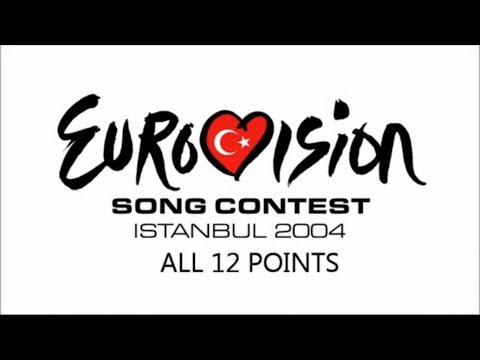 Eurovision 2004 All 12 Points