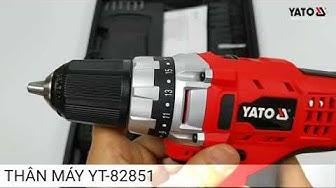 MÁY KHOAN VẶN VÍT DÙNG PIN 16 CHI TIẾT YATO YT-82851HOTLINE: HN:0983.230.230; HCM: 0987.99.86.99
