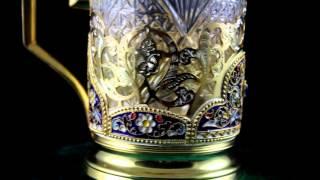 Апанде: серебряный подстаканник с эмалью Кубачи(, 2014-03-08T23:50:34.000Z)