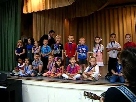 Kynoch Elementary School 2011 Levi's Kindergarten Graduation