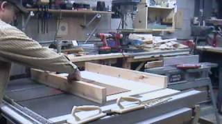 Cross Cut Sled For Table Saw