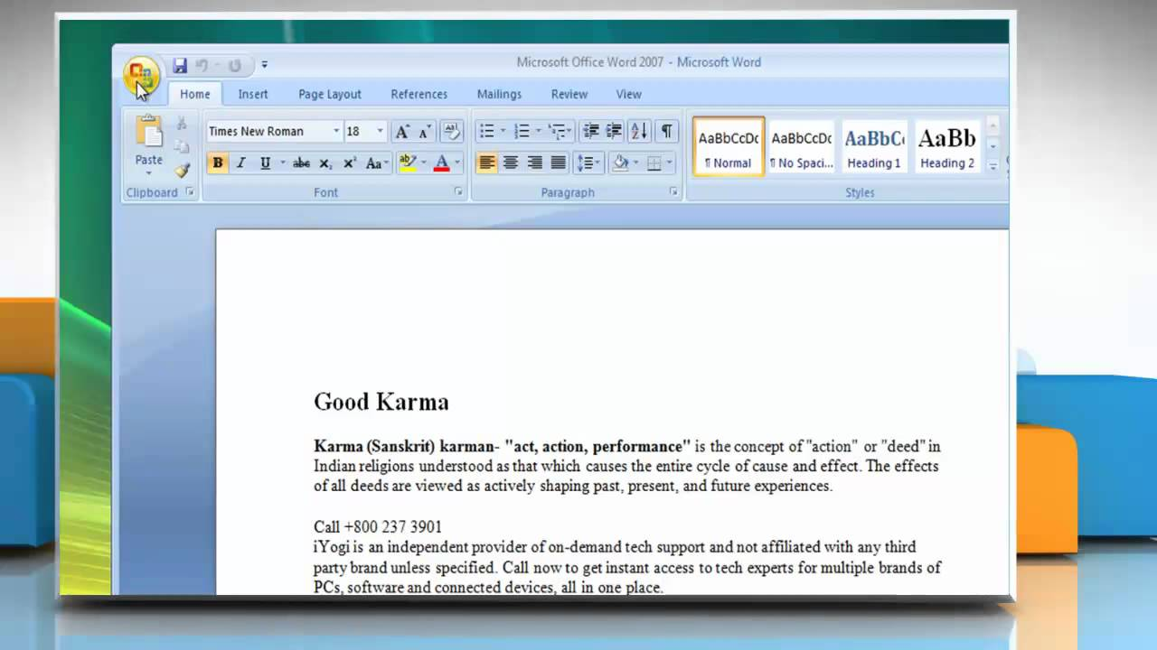microsoft word windows vista home premium