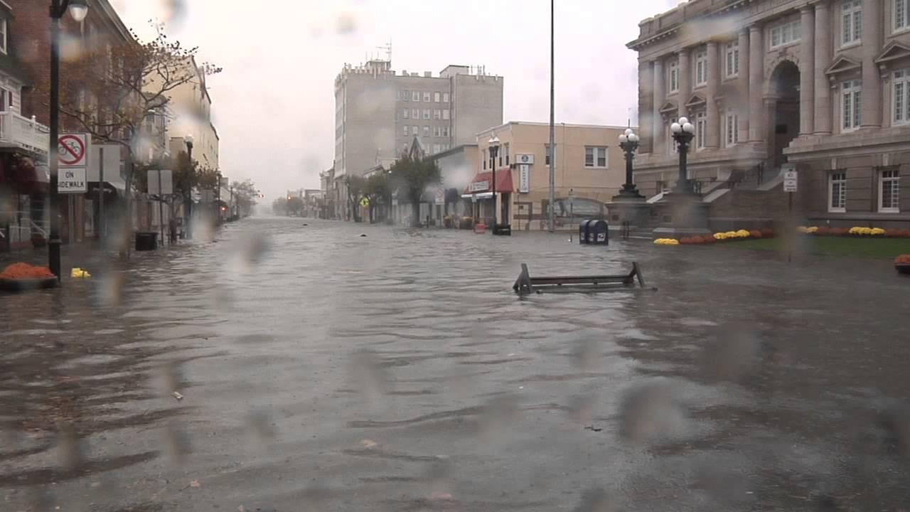 Ocean City, NJ Sandy underwater