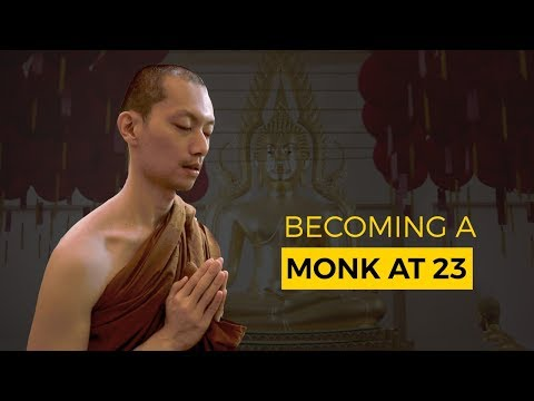 Becoming A Monk At 23