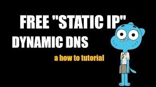 Dynamic DNS for FREE | Homelab…