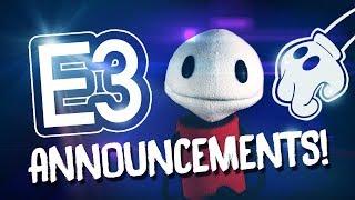 """E3! - """"HUGE BENDY ANNOUNCEMENTS!!"""""""
