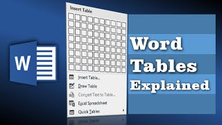5 handy tricks for formatting Word Tables