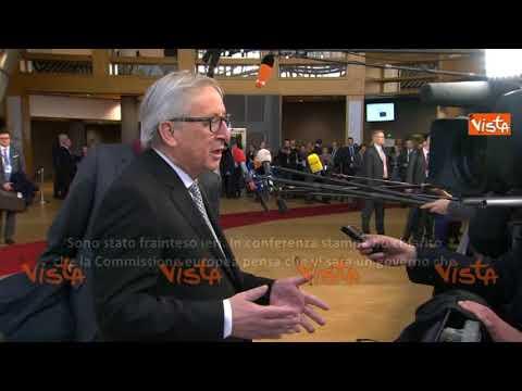 """Juncker fa marcia indietro: """"Mi hanno frainteso sulle elezioni in Italia"""""""