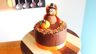 Pumpkin Layer Cake (Thanksgiving Themed)