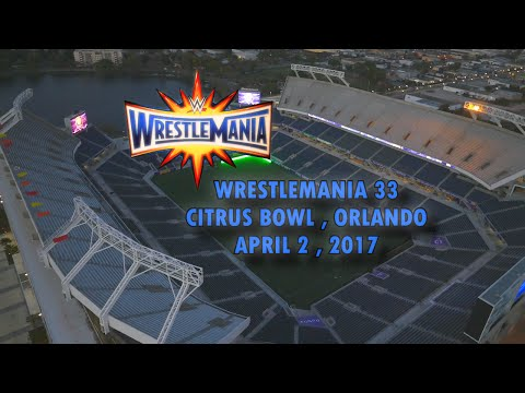 Tour of the new orlando Citrus bowl  the home of WRESTLEMANIA 33