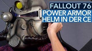 Sammlerstück oder Plastik-Spielzeug? Fallout 76 Power Armor Edition Helm ausgepackt