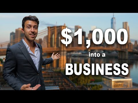 TURNING $1000 into a BUSINESS in NYC!