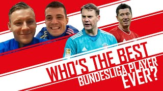 Who is the GOAT Bundesliga player? | Bernd Leno & Granit Xhaka | World Cup of Everything
