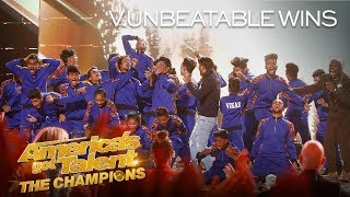 V.UNBEATABLE WINS AGT: THE CHAMPIONS SEASON 2! - America's Got Talent: