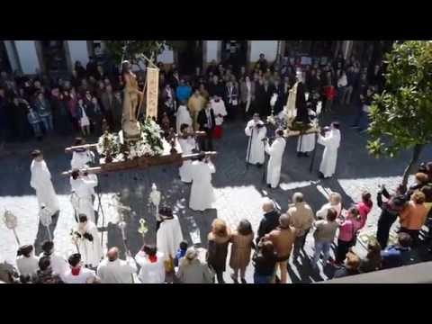 Villaviciosa culmina la Semana Santa con  la Procesión del Resucitado con María 2015