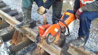 Торцювання( різання ) рейок, Ремонтно Будівельною Компанією ТрансЛидер
