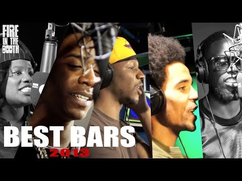 Fire In The Booth 2013 Best Bars inc. Lady Lykez, Nines, Giggs, Akala, Ghetts +more