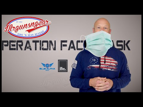 Operation Face Mask 😷