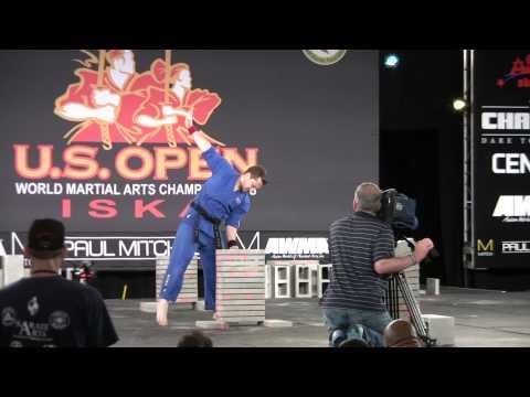 Master Adam Grogin – ISKA Lightweight Men's Black Belt Concrete – US Open 2014