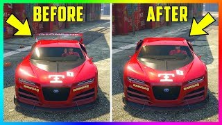 TOP 10 Vehicles With RARE & Unique Customization Options You Didn't Know About In GTA Online!