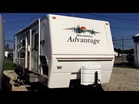 Used Travel Trailer For Sale 2005 Fleetwood Wilderness Advantage 290FQSG