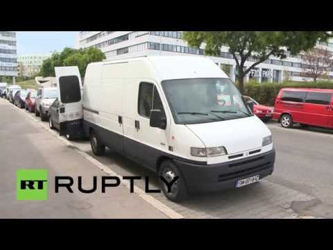 "Austria: Discovery of 24 refugees in ""airtight"" van brings Interior Minister out for photo opp"