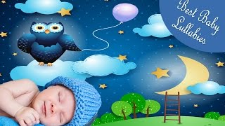 ♥ Music Box Lullaby Songs Rock a Bye Baby Lyrics  Babies to Go To Sleep Baby Song Lullabies  ♥