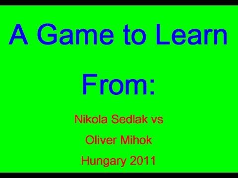 Nikola Sedlak vs Oliver Mihok  Hungary 2011